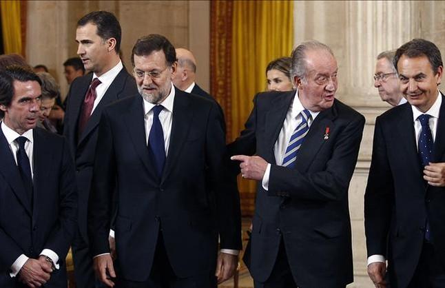 Rajoy-Zapatero-Aznar
