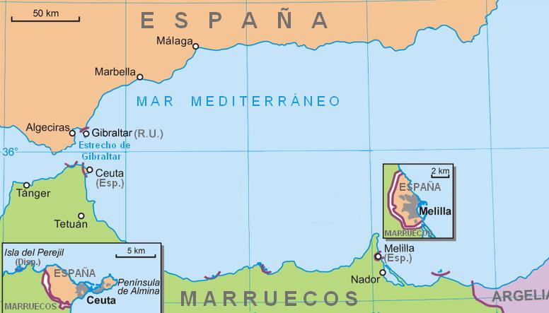 Ceuta Spain  City pictures : la Policía Nacional llevaron a cabo una operación conjunta en Ceuta ...