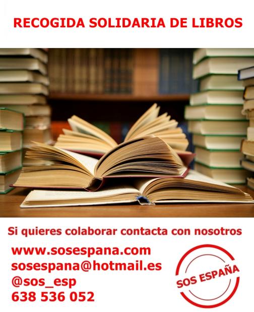 SOS-España-recogida-libros