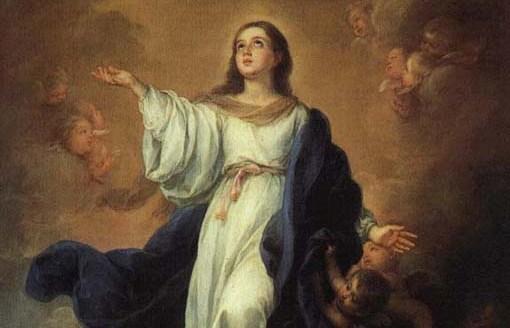 Resultado de imagen para bienvenido agosto con la virgen de la asuncion