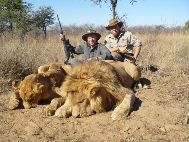 cazadores-Leones