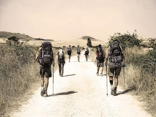 peregrinos-Camino-Santiago