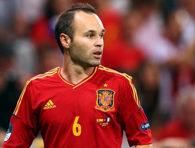 Andrés-Iniesta-jugador-Barça-selección-española-futbol