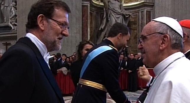 Rajoy-y-Papa-Francisco