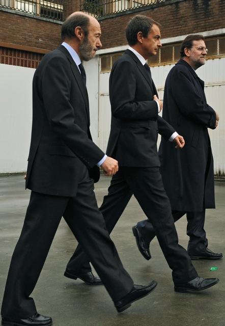 Rubalcaba-Zapatero-Rajoy