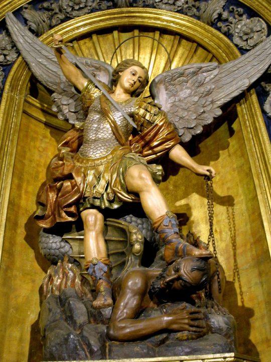 San-Miguel-Arcángel-Basilica-de-la-Merced-Barcelona