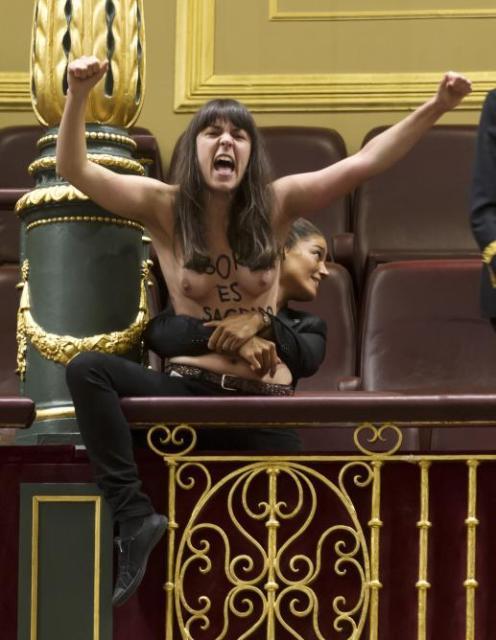 Femen-España-chica