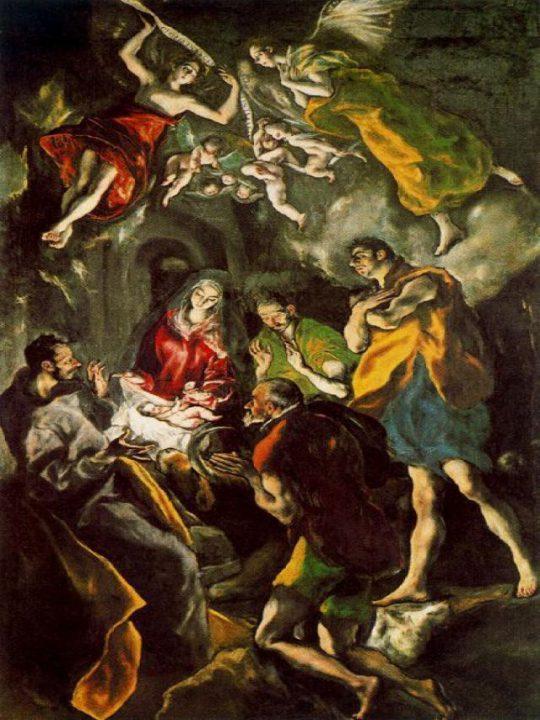 Adoración_de_los_Pastores_El_Greco