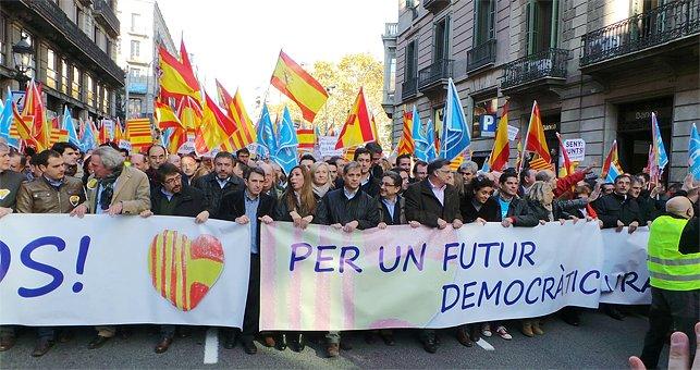 Manifestación_Barcelona_6Diciembre_Constitución