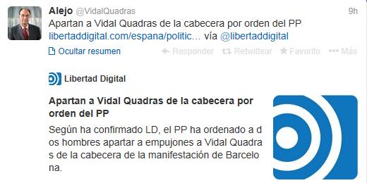 Vidal_Quadras_expulsado_manifestación_Barcelona