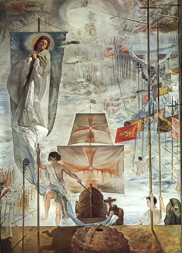 Descubrimiento_America_Dalí