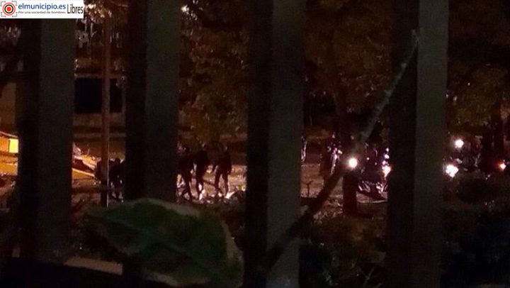 Chavistas_venezuela_enfrentamientos