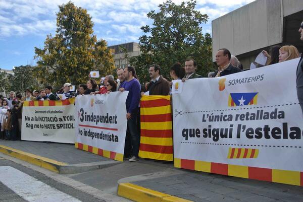 Manifiestación_contra_TV3
