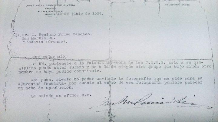 Escrito-Jose-Antonio-Primo-de-Rivera