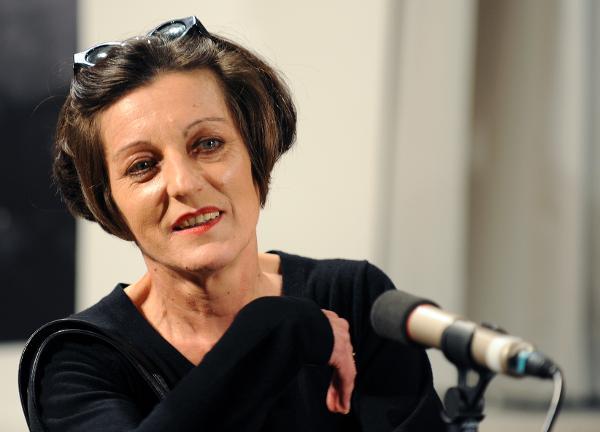 Die Berliner Schriftstellerin Herta Müller...