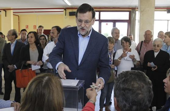 Maria_Rajoy_Votando