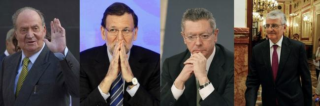 Rey-Rajoy-Gallardon-Torres-dulce