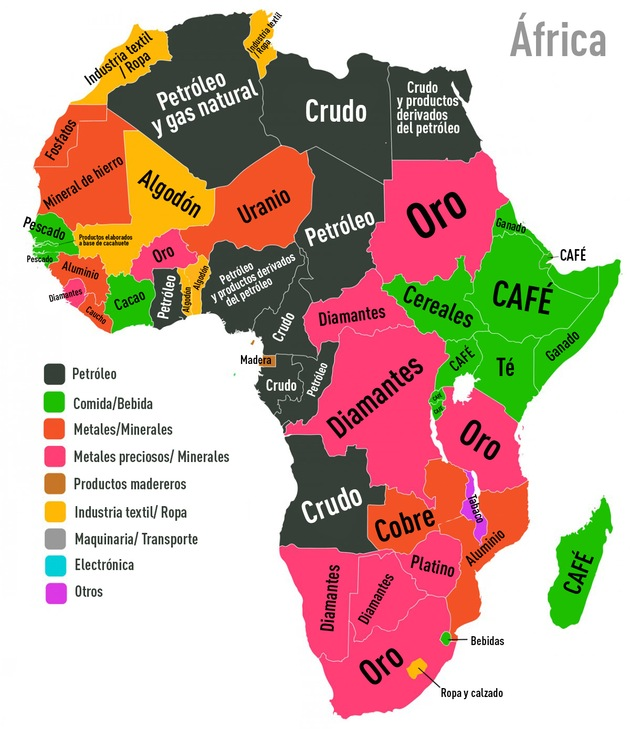 mapa-exportaciones-Africa
