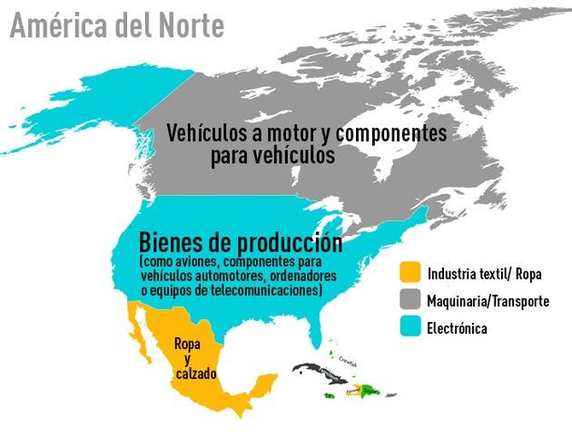 mapa-exportaciones-America-del-norte