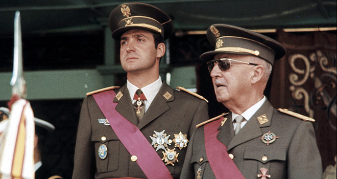 Juan-CarlosI-Francisco-Franco