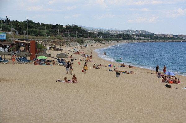 La-playa-de-Sant-Simo-Mataró