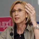 Rosa Díez (UPyD) se siente sorprendida y dolida por las declaraciones de Wagner