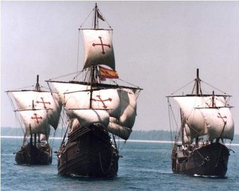 embarcaciones-conquista-america-cristobal-colon