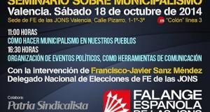 Seminario sobre municipalismo en Valencia