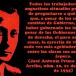 José Antonio Primo de Rivera visto por un anarquista
