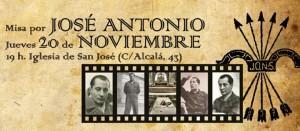 Misa por José Antonio Primo de Rivera en Madrid