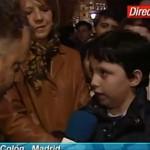 El Pequeño Nicolás ya apuntaba maneras a los 10 años (video)