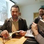 """Imágenes de la presentación del libro """"Con la piel de cordero"""" en Valencia"""