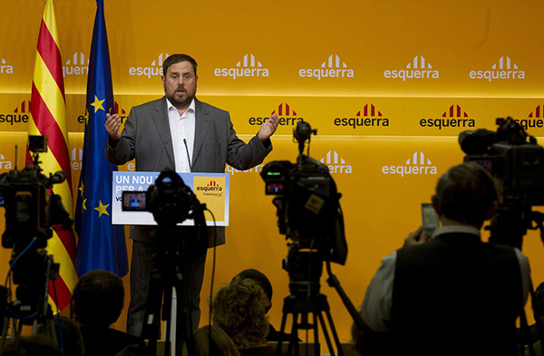 """LA DIRECCI""""N DE ERC ANALIZA LOS RESULTADOS ELECTORALES"""