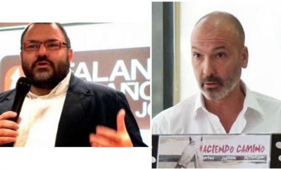Norberto Pico y Antonio Pérez bencomo