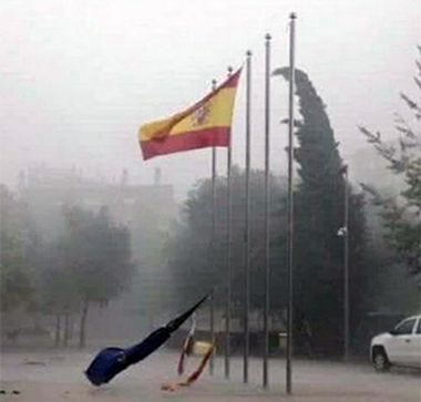 bandera-espanola-mollet-de-valles