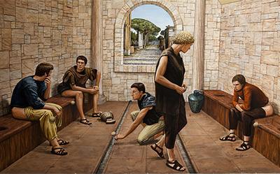 baños-publicos-romano