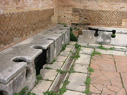 como cagaban-los-romanos