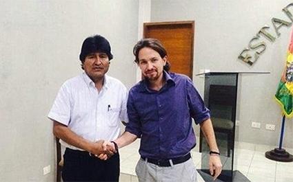 Pablo-Iglesias-Evo-Morales
