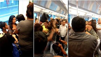 agresion-metro