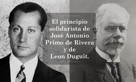 Jose-antonio-primo-de-rivera-Leon-duguit