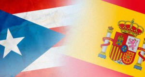Banderas de puerto rico y España