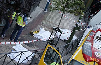 Mueren violentamente tres personas en un despacho de for Oficina de empleo madrid usera