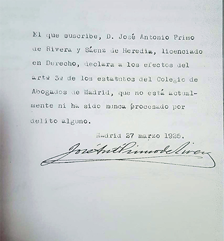 Documento-declaracion-Jose-Antonio-primo-de-rivera