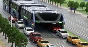 autobús tunel
