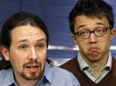 Íñigo Errejon y Pablo Iglesias