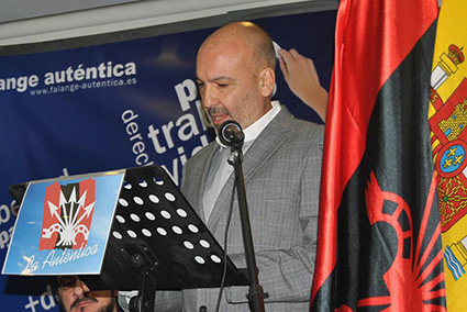 Antonio Pérez Bencomo - Secretario General de Falange Auténtica
