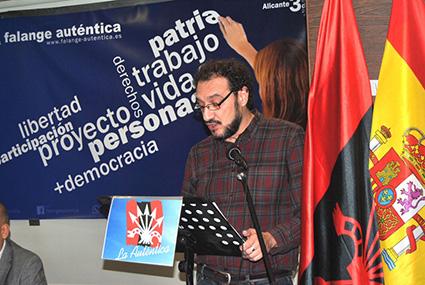 Carlos Cardesa - Miembro de la Junta Política Nacional de Falange Auténtica