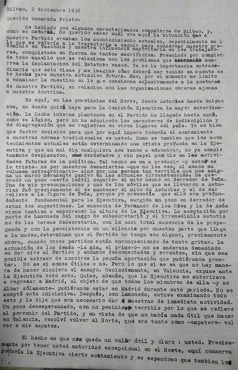 Indalecio-prieto-Francisco-Cruz-Salido-Carta-Documento