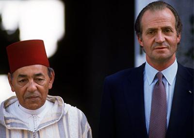 Hassan II y Rey Juan Carlos
