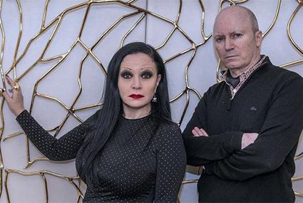 BARCELONA  15 02 2016 El duo FANGORIA presenta disco y concierto  Nacho Canut y Alaska  FOTO FERRAN SENDRA